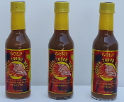 Conch Turbo Gold is a blend of sweet pineapple habanero peppers and spices cooked to perfection!